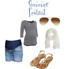 Cute for summer. But I wonder how motivated I will be to shave my legs when I am 7+ months pregnant! :-P