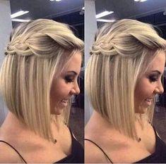 penteados para cabelos curtos 1