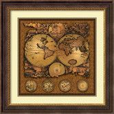 Found it at Wayfair - 'Cartographica 3' by Max Besjana Framed Graphic Art