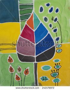 Image result for free abstract painting print+bird downloads