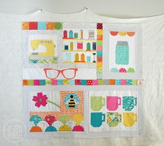 Circle 7 Bee :: Courtney's Quilt