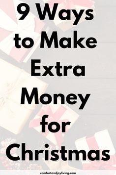 9 Ways to Make Extra Money for Christmas