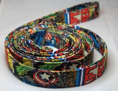 Captain America Dog Leash  - might need to get this for the husband for dog walking
