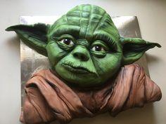 Yoda cake Star Wars cake