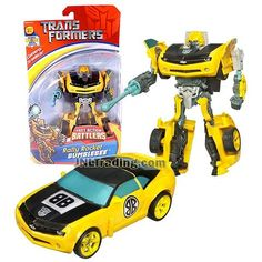 Transformer Year 2006 Fast Action Battlers Series 6 Inch Tall Figure - Rally Rocket BUMBLEBEE with Plasma Rocket and Launcher (Vehicle Mode: Camaro Concept) Transformers Action Figures, Robot Action Figures, Transformers Toys, Camaro Concept, Transformers Collection, Rally, Vehicle, Age, Ebay