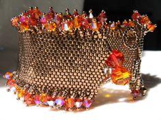 Bracelet inspiré par la bague Maya de Marie Le Sueur