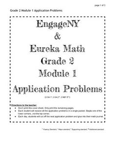 Eureka math engage ny vocab 4th grade bundle modules 1 7common engageny and eureka math grade 2 application problems for all modules this is a pdf fandeluxe Images