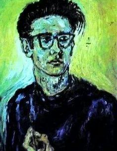 Stuart Sutcliffe self portrait Beatles Art, The Beatles, He's Beautiful, Beautiful Artwork, Stuart Sutcliffe, The Quarrymen, Winter Palace, Love Me Do, Friends