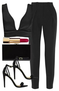 """""""Untitled #4516"""" by angela379 ❤ liked on Polyvore featuring Proenza Schouler, Boohoo, Chanel, Charlotte Olympia and ASOS"""