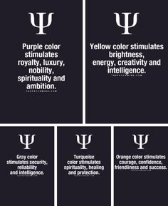 The influence colors have on our minds