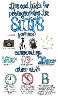 Tips and Tricks for Photographing the Stars (via Zauberbear)