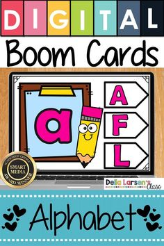 Learn the alphabet. Make the adjustment to kindergarten easier with Boom Cards. Fun ideas for Preschool and kindergarten readiness. Help get your student ready for kindergarten and back to school with a fun game on an iPad or a Chromebook. Be ready for the kindergarten curriculum this fall. #readyforkindergarten #kindergarten #backtoschool #readiness Literacy Stations, Literacy Centers, Writing Centers, Learning Stations, Kindergarten Curriculum, Upper And Lowercase Letters, Teaching The Alphabet, Google Classroom, Classroom Ideas