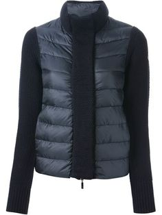 Moncler Textured Padded Jacket - Apropos The Concept Store - Farfetch.com