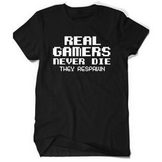 Gamer Shirt Tee Funny T-shirt Tee Mens Womens Ladies Funny Video Games... ($15) ❤ liked on Polyvore featuring men's fashion, men's clothing, men's shirts, men's t-shirts, mens patterned t shirts, mens t shirts, mens checkered shirts, mens leopard print t shirt and mens collared shirts
