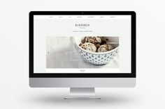 Kindred - A Food & Lifestyle Blog by Station Seven on Creative Market