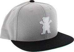 Grizzly Og Bear Hat Adjustable Silver Skate Hats Skate Hats, Bmx Shop, Bmx Parts, Skateboard Shop, Longboarding, Hats Online, Bmx Bikes, Baseball Hats, Bear
