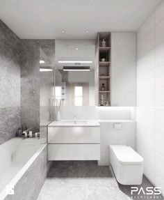 6 Best Bathroom Style Minimalist - Here I will give some picture of the minimalist bathroom that could possibly be an inspira Small Bathroom Layout, Small Bathroom Tiles, Modern Bathroom Design, Bathroom Colors, Bathroom Interior Design, Bathroom Ideas, Small Tiles, Interior Modern, Modern Luxury