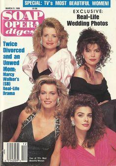 MaryBethEvans #DAYS FinolaHughes #GH NinaArveson #YR KristianAlfonso #FalconCrest 3/21/89 http://classicsodcovers.tumblr.com/