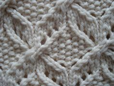 Luxurious Chunky Hand Knitted 100 Wool Throw Afgahn by SimplyBatty, $235.00