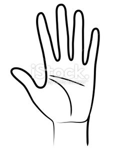 Hand symbol isolated on white background Counseling Posters, Hand Symbols, Free Vector Art, Clipart, Illustration, Hands, Inspiration, Body Parts, Royalty
