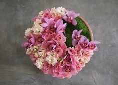 Low Pink Centerpiece