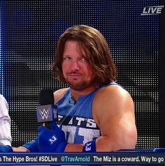 AJ Styles doesn't take your crap. Wrestling Rules, Watch Wrestling, Surf Tattoo, Wwe Funny, Wwe Tna, Thing 1, Aj Styles, Total Divas, Professional Wrestling
