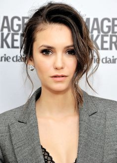 Nina Dobrev attends the inaugural Image Maker Awards hosted by Marie Claire at Chateau Marmont on January 12, 2016 in Los Angeles, California.