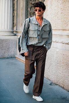 Streetstyle на Неделе мужской моды в Милане: лучшие образы на фото | Мода | STREETSTYLE | VOGUE