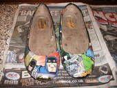 Homemade Batman Shoes!