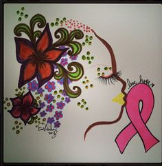 """Beautiful """"Pink Art"""" by our talented friend Eva Valadez"""