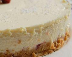 Cheesecake mascarpone parfum vanille
