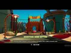 Video Game Characters, Spongebob, Bikini Bottoms, Battle, Videos, Bikinis, Sponge Bob, Bikini, Bikini Tops
