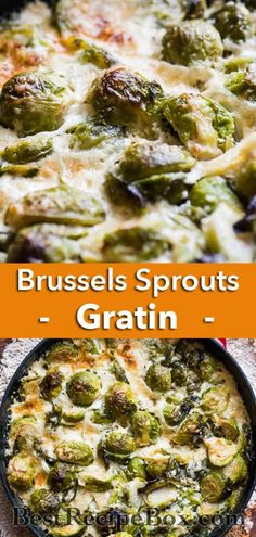 Our Brussels Sprouts Gratin is perfect for dinner! Cheesy Brussels Sprouts Gratin Casserole Recipe for Thanksgiving Brussel Sprouts Au Gratin, Brussel Sprout Casserole, Brussels Sprouts, Thanksgiving Casserole, Thanksgiving Recipes, Thanksgiving 2020, Thanksgiving Brussel Sprouts, Sprout Recipes, Kitchens