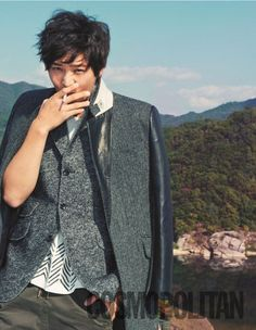 Joo Won 주 원 - Cosmopolitan Magazine Nov 2012