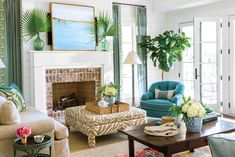 Top Southern Living Room Ideas Style Home Design Unique And Southern Living Room Ideas Design A Room Beach Living Room, Coastal Living Rooms, Living Spaces, Small Living, Modern Living, Living Area, Southern Living, Southern Style, Country Living