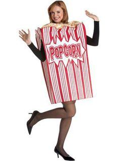 Kostuum popcornzak