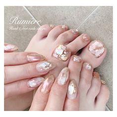 春/夏/デート/女子会/ハンド - ainaのネイルデザイン[No.4288223]|ネイルブック Elegant Nail Art, Elegant Nail Designs, Nail Art Designs, Pretty Toe Nails, Cute Toe Nails, Glitter Gel Nails, Sparkle Nails, Stiletto Nails, Pedicure Nail Art