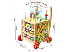 Pre Order Special - Expected shipping date is the of May. Please note, this is an estimate and the actual date may vary a few days either way. Activity Cube, Activity Centers, Shipping Date, Creative Play, Toddler Activities, Toy Chest, Storage Chest, Centre, Toddler Bed