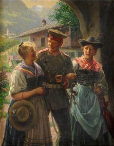 Emil Rau (German: 1858-1937) - A Much Admired Hero