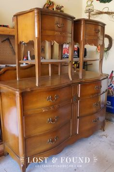 French Provincial Bedroom Set Reveal   http://www.lostandfounddecor.com/makeovers/french-provincial-bedroom-set-reveal/