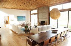 Inside Jenni Kayne's Glamorous Home: Embrace Neutrals My Living Room, Living Area, Living Spaces, 70s Decor, Home Decor, Living Furniture, Dining Room Design, Decoration, Rum