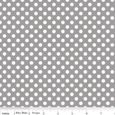 Riley Blake Knit Small Polka Dots Fabric GRAY Dots measure in diameter. White polka dots on a grey/gray background. Price is per yard 18 x 58 x each Machine Wash/Dry Knit Specifications: cotton spandex singly knit Quilt Shop Quality Feel Modern Fabric, Grey Fabric, Polka Dot Fabric, Polka Dots, Decoupage, Laminated Cotton Fabric, Stash Fabrics, Riley Blake, Knitting Designs