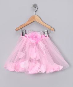 This Light Pink Petal Tutu - Infant & Toddler by Just For Girls is perfect! #zulilyfinds