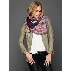 Free People Artisan Loop Scarf ($58) via Polyvore