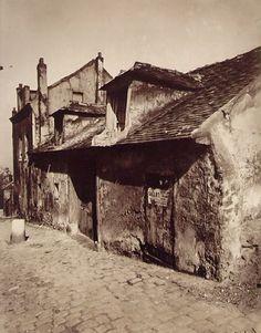 Eugene Atget - Montmartre - 1923