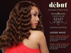 Debut Virgin Indian Remy Hair 27