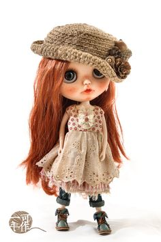 Fall Doll | https://www.etsy.com/listing/244913649/blythe-doll-outfit-16-doll-size-vintage?ref=listing-shop-header-0
