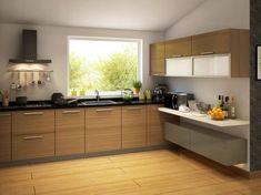 Grey Modular Kitchen Designs  Home  Pinterest  Kitchen Design Simple Modular Kitchen L Shape Design Inspiration Design