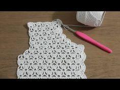 60 Ideas For Crochet Blusas Cortas Gilet Crochet, Crochet Yoke, Crochet Cardigan Pattern, Crochet Shirt, Crochet Jacket, Freeform Crochet, Easy Crochet, Crochet Stitches, Crochet Baby