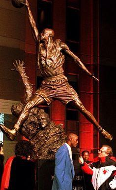 MJ Statue